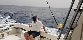 Masks required Cavalier & Blue Marlin Sport Fishing Gran Canaria