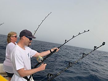 Jos hooked up Cavalier & Blue Marlin Sport Fishing Gran Canaria