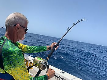 Alweer  enorme Grootoogtonijn Cavalier & Blue Marlin Sport Fishing Gran Canaria
