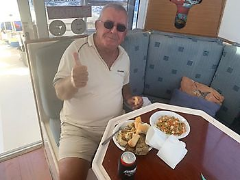 Enjoy your meal Klaas Cavalier & Blue Marlin Sport Fishing Gran Canaria