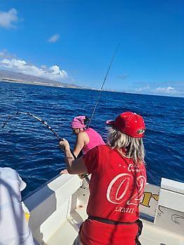 Hooked-up Cavalier & Blue Marlin Sport Fishing Gran Canaria
