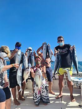 Zonnig, weinig wind en veel vis. Cavalier & Blue Marlin Sport Fishing Gran Canaria