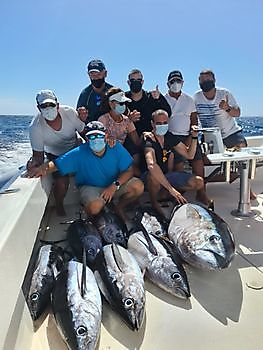 7/9 Albacores - 1/1 Big Eye Tuna Cavalier & Blue Marlin Sport Fishing Gran Canaria
