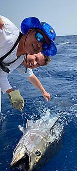 650lb Bluefin Tuna Released Cavalier & Blue Marlin Sport Fishing Gran Canaria