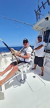 Blue Marlin 3 gewinnt 2. Corona-WM Cavalier & Blue Marlin Sportfischen Gran Canaria