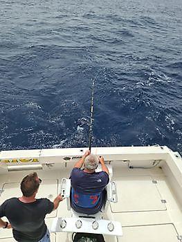 Dusan Dudek hooked up Cavalier & Blue Marlin Sport Fishing Gran Canaria