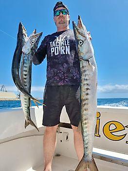 Schöner Fang Cavalier & Blue Marlin Sportfischen Gran Canaria