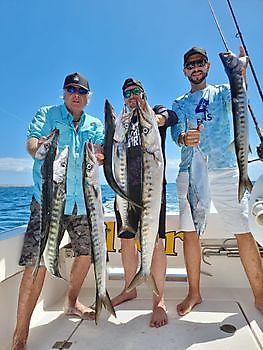Gut gemacht Jungs Cavalier & Blue Marlin Sportfischen Gran Canaria