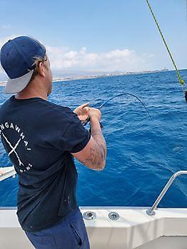 Hooked up Cavalier & Blue Marlin Sportfischen Gran Canaria