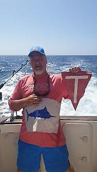 Blue Marlin Released Cavalier & Blue Marlin Sport Fishing Gran Canaria