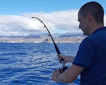 Hooked up Cavalier & Blue Marlin Sport Fishing Gran Canaria